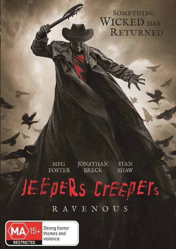 Jeepers Creepers: Ravenous on DVD