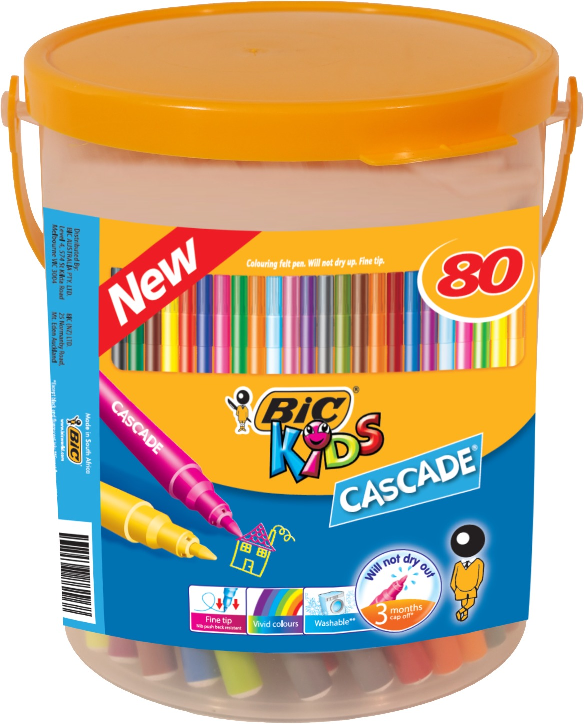 Bic: Kids Cascade Markers (Pack of 80) image