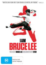 I Am Bruce Lee on DVD