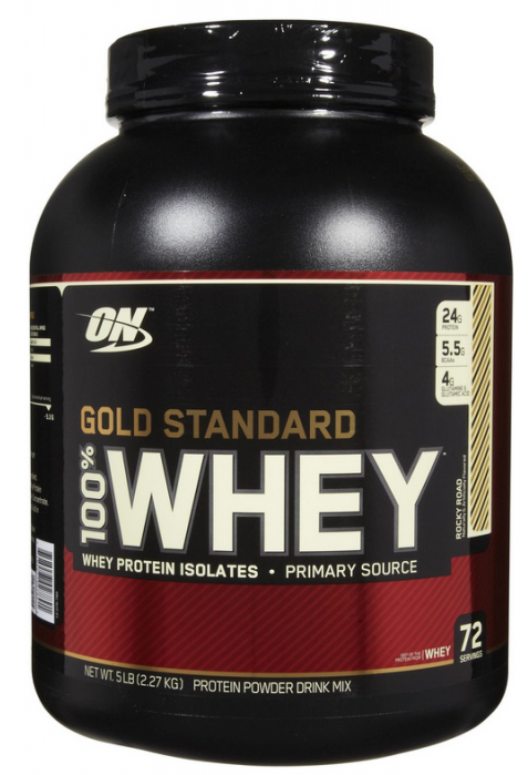 f034d8ee3 Optimum Nutrition Gold Standard 100% Whey - Rocky Road (2.27kg) image ...
