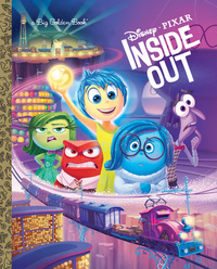 Inside Out Big Golden Book (Disney/Pixar Inside Out) by Rh Disney