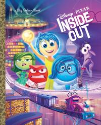 Inside Out Big Golden Book (Disney/Pixar Inside Out) by Random House Disney