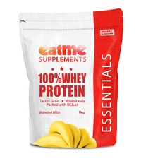 Eat Me 100% Whey Protein 1Kg (Banana Bliss)