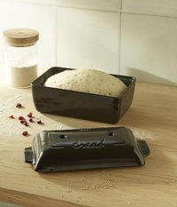 Emile Henry: Bread Loaf Baker - Charcoal image