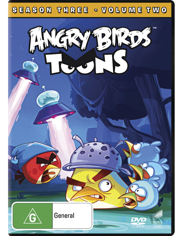 Angry Birds Toons: Season 3 - Volume 2 on DVD