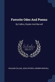 Favorite Odes and Poems by William Collins