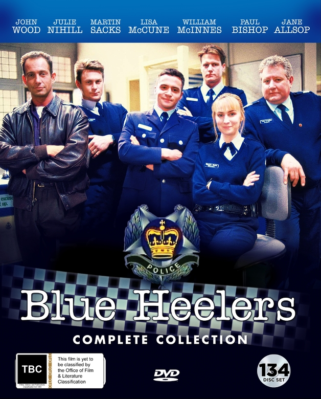 Blue Heelers Complete Collection on DVD