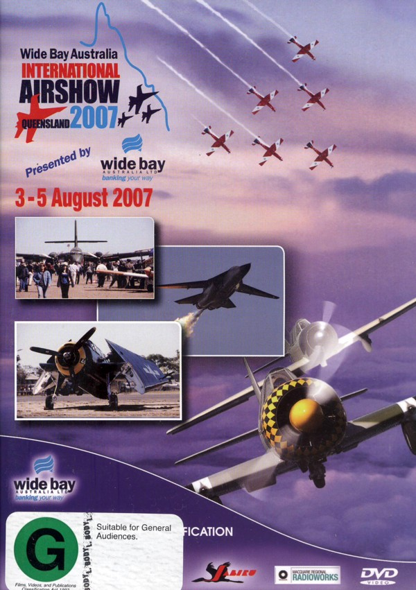 Highlights Of The Wide Bay Australian International Airshow 2007 on DVD image
