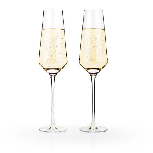 Raye Crystal Champagne Flutes (Set of 2)