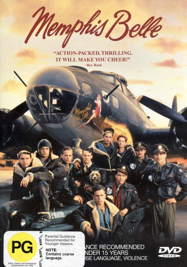 Memphis Belle on DVD image