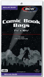 BCW: Comic Book Bags - (Silver/Regular)