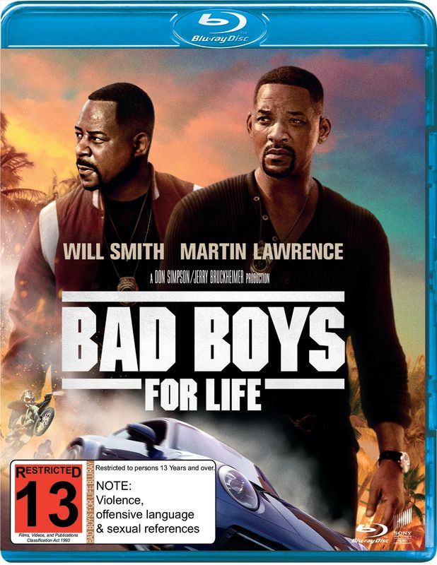 Bad Boys for Life on Blu-ray