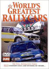 The World's Greatest Rally Cars on DVD