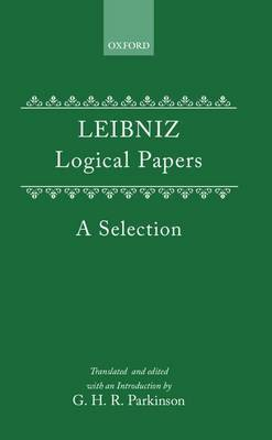 Logical Papers by G.W. Leibniz image