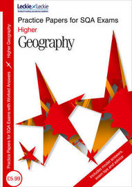 Higher Geography Practice Papers by Bill Dick image