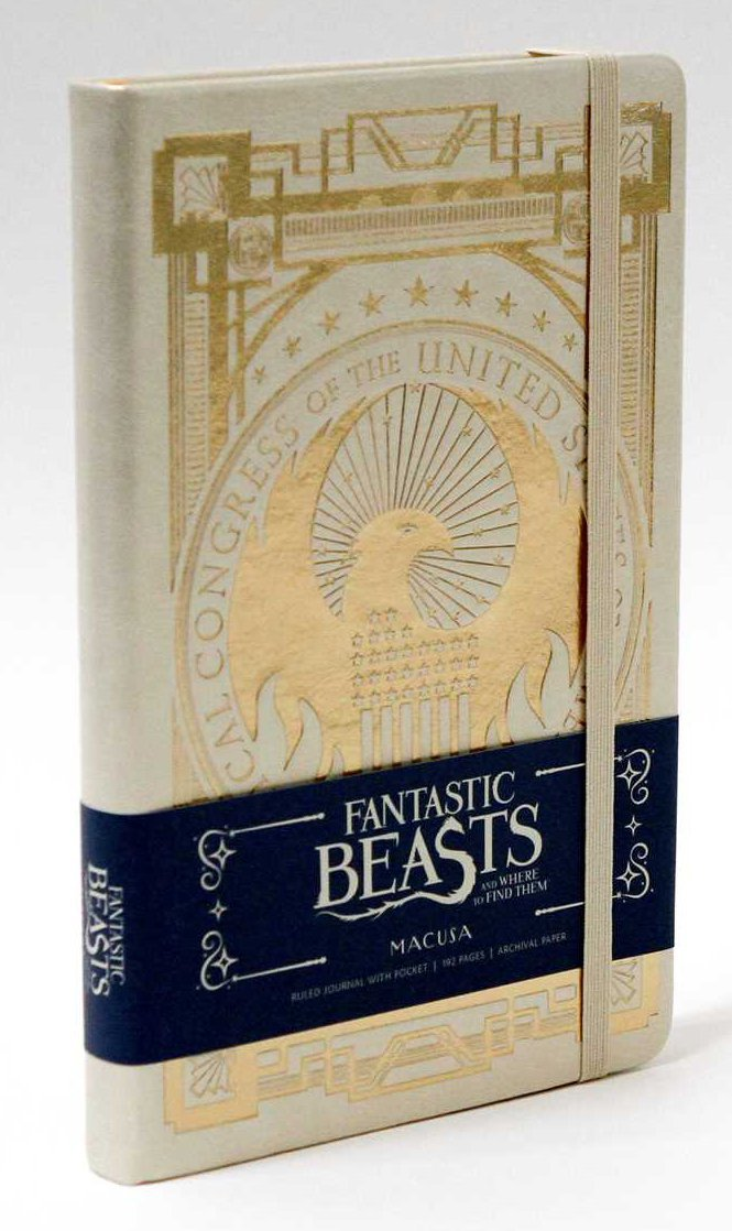 Fantastic Beasts and Where to Find Them: Macusa Hardcover Ruled Journal by Insight Editions image