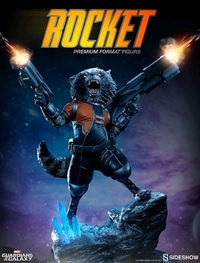 "Guardians of the Galaxy: Rocket Raccoon - 10"" Premium Format Figure"