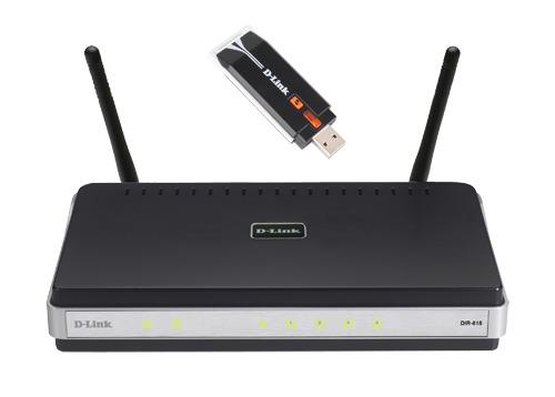 D-LINK DIR-635 Broadband Router & DWA-140 USB Adapter image