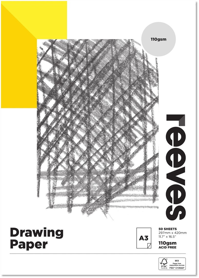 Reeves Artist Drawing Pad A3 image