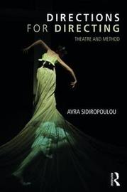 Directions for Directing by Avra Sidiropoulou image