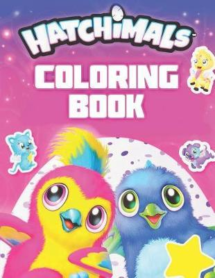 Hatchimals Coloring Book by Activity Child image