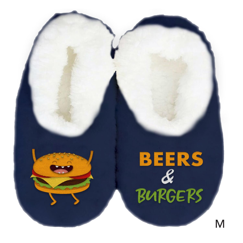Men's Duo Slippers - Burger (Medium) image