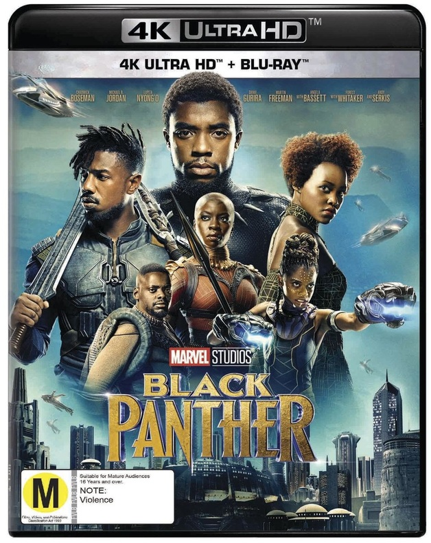 Black Panther (4K UHD + Blu-ray) on UHD Blu-ray