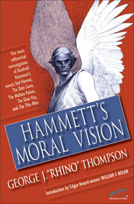 Hammett's Moral Vision by George J Thompson image