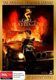 The Girl Who Played With Fire - Extended Version on DVD image