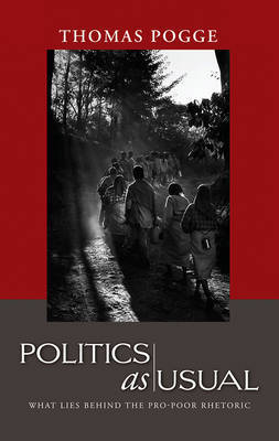 Politics as Usual by Thomas W. Pogge image