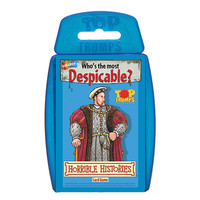 Top Trumps - Horrible Histories image