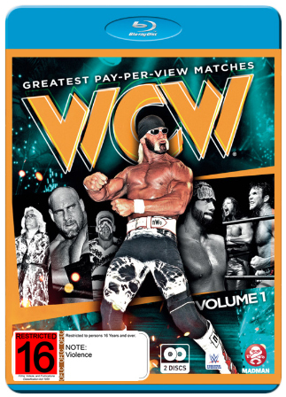 WCW Best Pay-Per-View Matches Vol 1 on Blu-ray