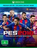Pro Evolution Soccer 2018 Premium Edition for Xbox One