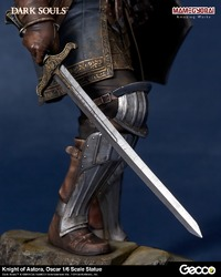"Dark Souls: Knight of Astora Oscar - 12"" Statue image"