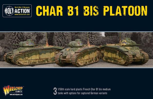 Bolt Action: Char B1 bis Platoon