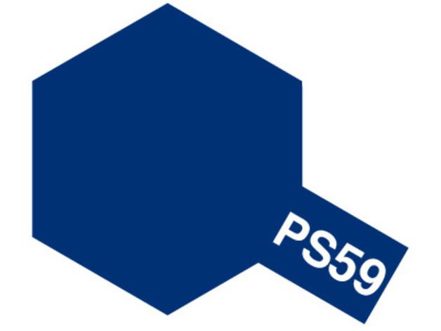Tamiya PS-59 Polycarb Dark Metallic Blue - 100ml Spray Can