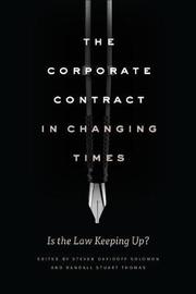The Corporate Contract in Changing Times