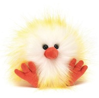 "Jellycat: Crazy Chick (Yellow & White) - 4"" Plush"
