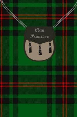Clan Primrose Tartan Journal/Notebook by Clan Primrose