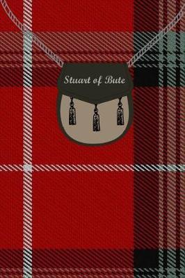 Clan Stuart of Bute Tartan Journal/Notebook by Clan Stuart