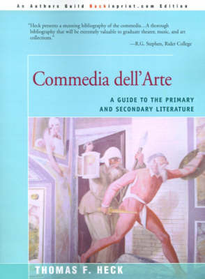 Commedia Dell'arte by Thomas F. Heck