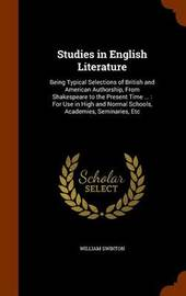 Studies in English Literature by William Swinton image