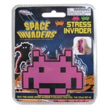 Space Invaders: Stress Ball - Pink