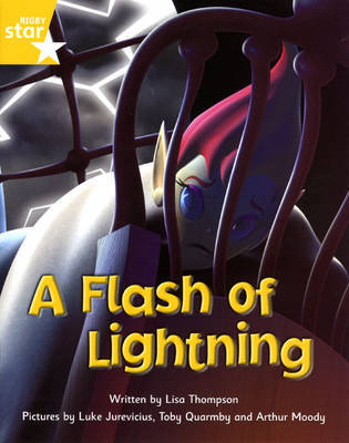 Fantastic Forest Yellow Level Fiction: A Flash of Lightning by Lisa Thompson image