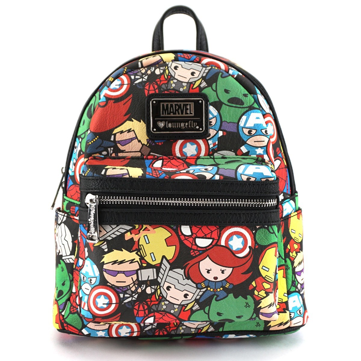 Loungefly Marvel Avengers Kawaii Print Mini Backpack image ... 36115f8c09a4f