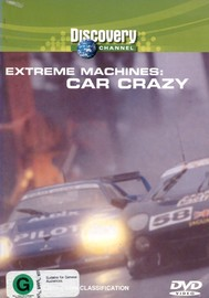 Extreme Machines - Car Crazy on DVD image