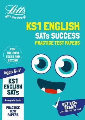 KS1 English SATs Practice Test Papers by Letts KS1