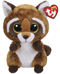 Ty Beanie Boo: Rusty Raccoon - Medium Plush