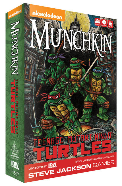 Munchkin: Teenage Mutant Ninja Turtles - Card Game
