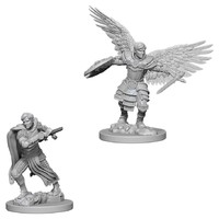 D&D Nolzurs Marvelous: Unpainted Miniatures - Male Aasimar Fighter